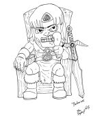 Barbarian - Male by Shapshizzle