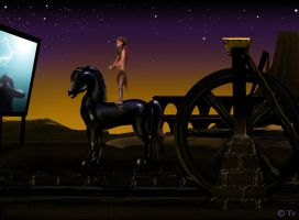 Night at the Ride-In by hyperjet