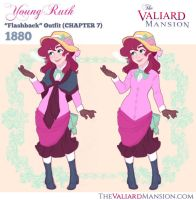 Young Ruth Costume Designs - 1880 Flashback by The-Ez