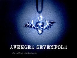 A7X Necklace by hamsterSKULL