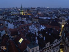 Prague by Vonjuntz