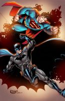 Superman/Batman by AlonsoEspinoza