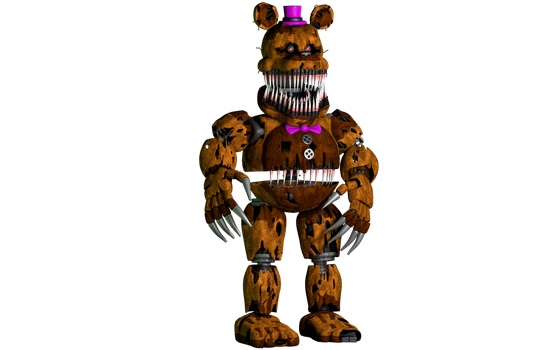 Nightmare Fredbear v8.5 | ThrPuppet by PuppetProductions