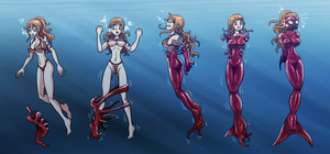 Latex Mermaid Nami (TF-sale Commission) by Re-Maker