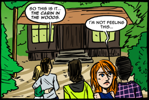 Cabin in the Woods by theEyZmaster