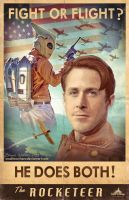 The Rocketeer new by smalltownhero