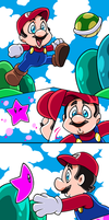 TG MARIO TRANSFORMATION by AnyaUribe