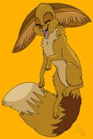 fennec fox for conkertsquirrel by Samalu17