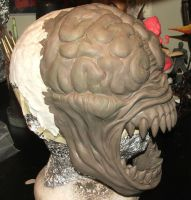 Licker head further progress 2 by Meadowknight