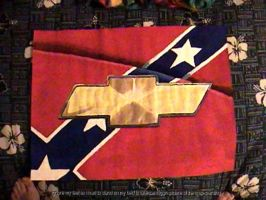 Confederate Flag + Chevy Logo by slynx99