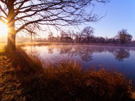 Kimbolton Lake by davepphotographer