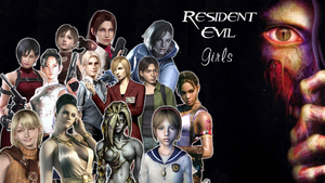 Resident Evil : Girls by lucyferrier