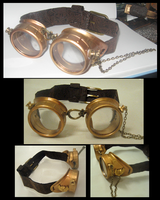 Steampunk Goggles - Owl by Lai-Tut