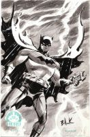 Batman HERO INITIATIVE sketch by DaveBullock