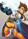 Overwatch- Tracer! by Deericious