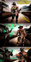 Mortal Melons - The Perfect split (MKX) by SovietMentality