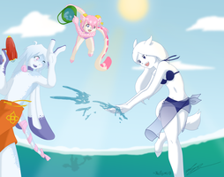 Collab - Summer Fun by keifujimi