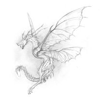 Firenettle Feydragon Sketch by TalonV