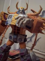 Unicron toy repainted- bot by Unicron9