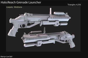 Halo:Reach GrenadeLauncher Low by martynball