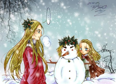 Christmas card 2015 by Windrelyn