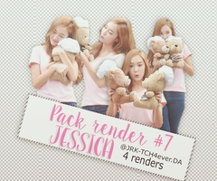 [PACK RENDER #7 - JESSICA JUNG ] by JRK-TCH4ever