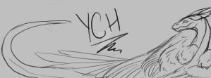 YCH dragon banner by CloudClipper