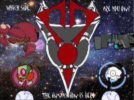 Invader zim: The invasion by morguefortheliving
