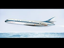 Air France Caravelle by QuentinR