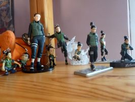 Shikamaru figurine collection by Temari-ore-no-yume