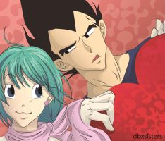 u Heart by dbzsisters
