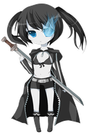 Black Rock Shooter by ruri-chu