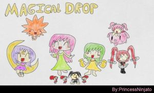 Magical Drop 3 My list of fighters by princessninjato