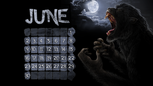 June werewolf wallpaper by Viergacht
