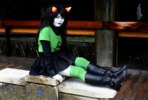 Homestuck || Meulin Leijon by serkets