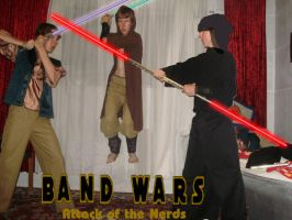 Band Wars: Attack of the Nerds by Chuck-the-ADDragon