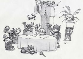Gotham Babies by RobtheDoodler