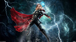 Thor Avengers Age Of Ultron by DavidCreativeDesigns