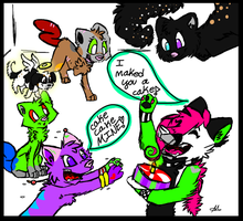 (late, lol) For PepperMintzi's 13th B-Day! :D by GhostRiderWolf