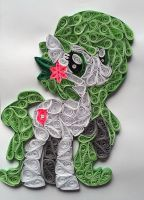 Quilling - Gracidea (MLP OC) by Sszymon14