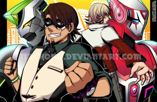 tiger and bunny by jurieduty