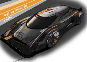 Aston Martin LMP1 Le Mans car by ewbj