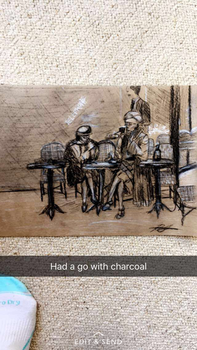 Charcoal 1920s by Valerie-may