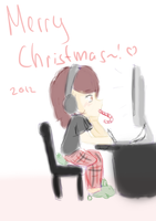 Merry Christmas~ by TopHatical
