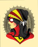 SpiderWoman / Gypsy Tatoo mash up by JonBolerjack