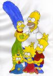 the simpsons family by H04H