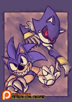 Classic Look-a-likes Pseudo and Metal by SkyPirateDash