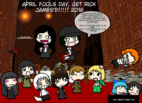 April Fools 2016~! by weasel777
