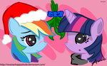 Twidash - Under the Mistletoe by MrAsianhappydude