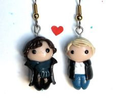 Sherlock Earrings by PaleMint